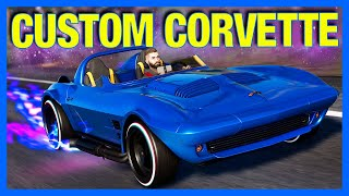 The Crew 2 : The CUSTOM Corvette C2!! (The Crew 2 The Game)