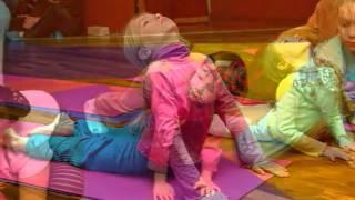 Детская йога,Бэби фитнес