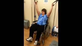 Яна Мазурок. Реабилитация в клинике Шиба (Израиль)(Яна Мазурок - девочка, которая прозрела, благодаря дельфину. Сейчас Яна находится на лечении в Израиле. Врач..., 2013-08-06T06:07:04.000Z)