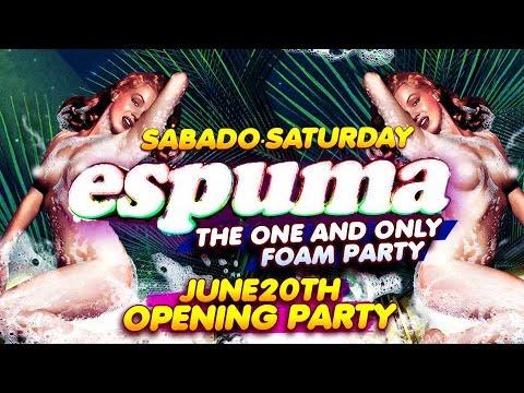 Espuma Opening Party @ Amnesia Ibiza 2015