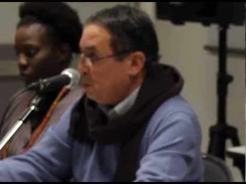 Omar Mokhtar Châalal invité des Amis de l'Algérie. Partie1 : Kateb Yacine