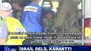 Israel washed dead bodies to destroy evidence