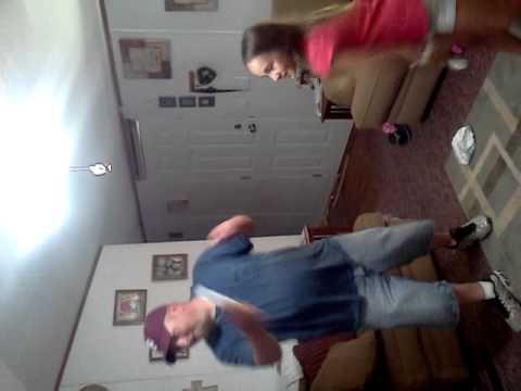 Katlyn and Melvin just dance