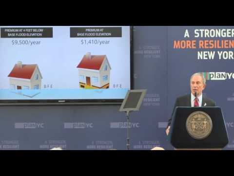 Mayor outlines coastal protection for City and Staten Island