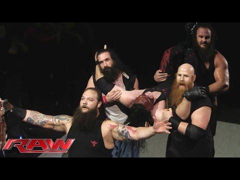 The Wyatt Family overpowers Demon Kane: Raw, October 26, 2015