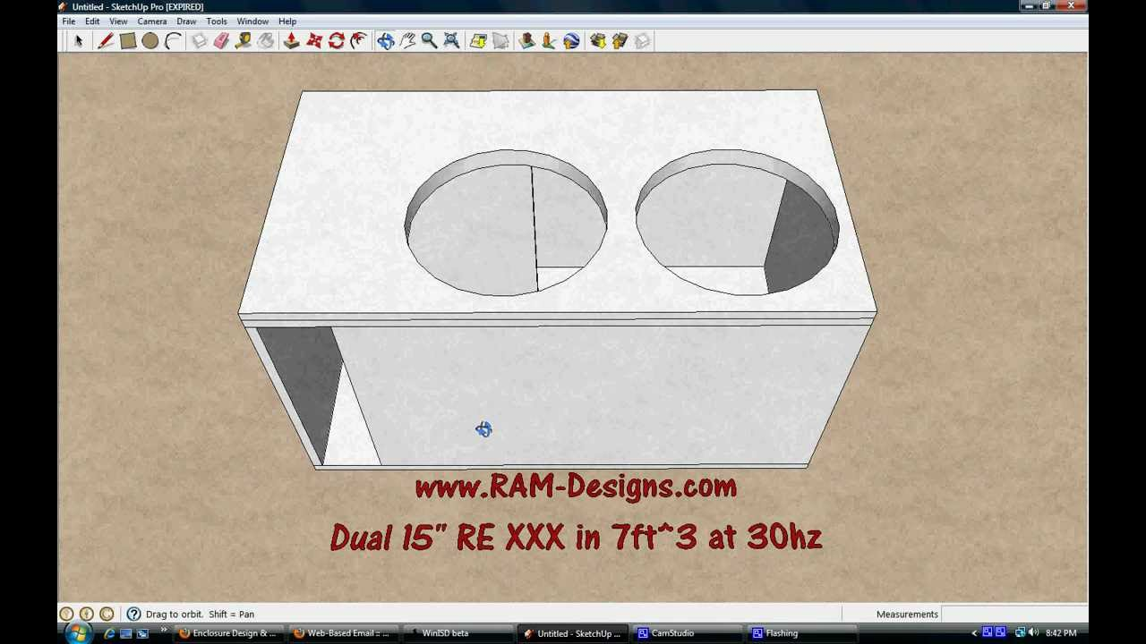 RAM Designs: RE Audio XXX Dual 15