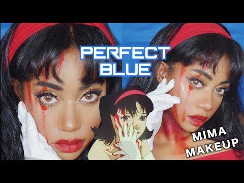 PERFECT BLUE MIMA Inspired Makeup | パーフェクトブルー (1997)