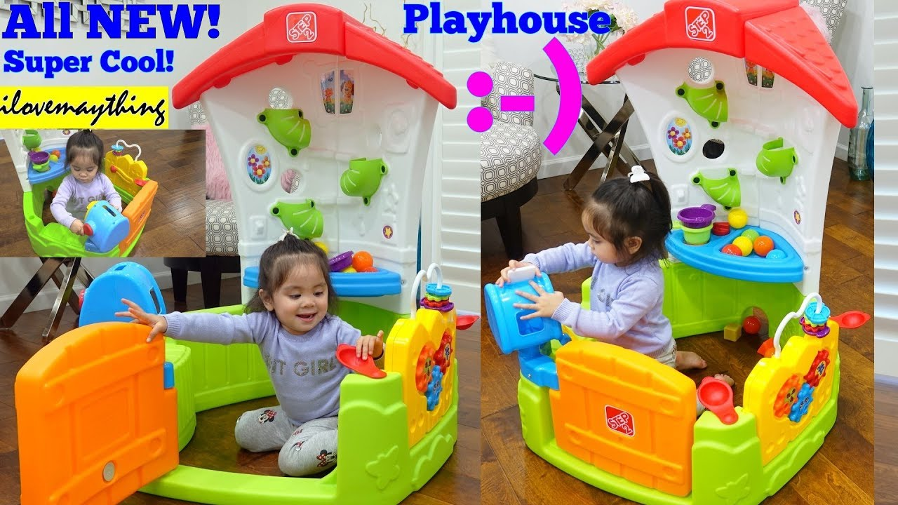 Toddlers\' Indoor Playhouse. Educational Toy for Toddlers. STEP 2 ...