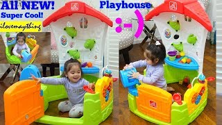 Toddlers' Indoor Playhouse. Educational Toy for Toddlers. STEP 2 Toddler Corner House