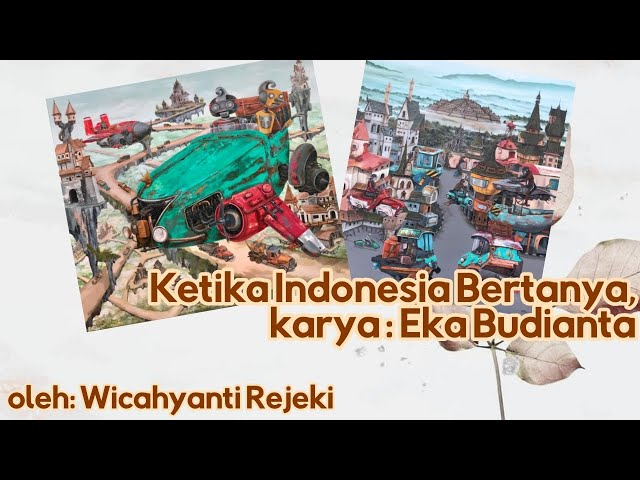 """Puisi """"Ketika Indonesia Bertanya"""" Karya Eka Budianta"""