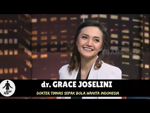 dr GRACE JOSELINI, DOKTER TIMNAS SEPAKBOLA WANITA INDONESIA   HITAM PUTIH 240518 34