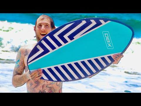 BRAILLE GOES SKIMBOARDING | BRAILLE TOURS EP. 2
