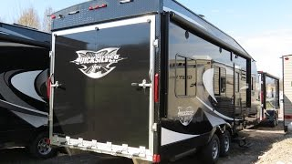 2017 Quicksilver 8.5x26 Toy Hauler by Livin Lite #3794