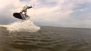 Kiteboarding in Saaremaa