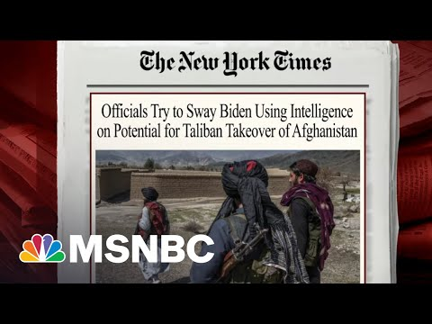 Officials Use Intelligence To Argue For Prolonging Military Mission In Afghanistan | Morning Joe