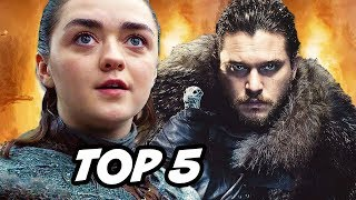 Game Of Thrones Season 8 Arya Sequel and TOP 5 Prequel Series Breakdown