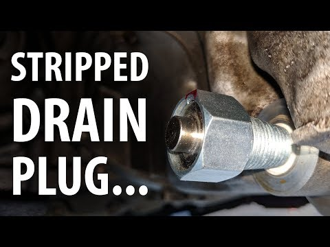 Review: Eco-Plug oil drain plug & thoughts on stripped sump threads