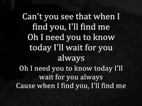 Joshua Radin fear Maria Taylor - When You Find Me with Lyrics
