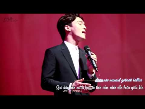 [Vietsub - Kara] Best Luck - Chen @ 151016 Hamorny Concert