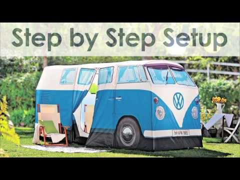 VW Bus C&ing Tent | Solutions  sc 1 st  YouTube & VW Bus Camping Tent | Solutions - YouTube