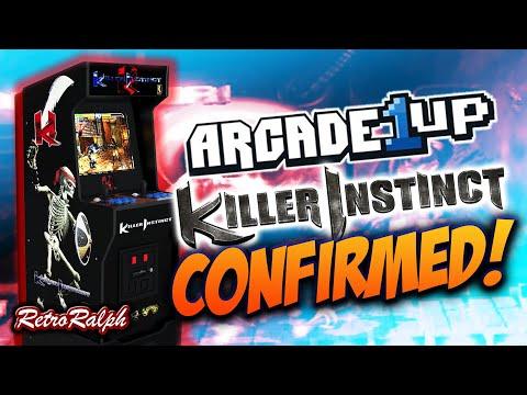Arcade1up - CES 2021 - KILLER INSTINCT! from Retro Ralph