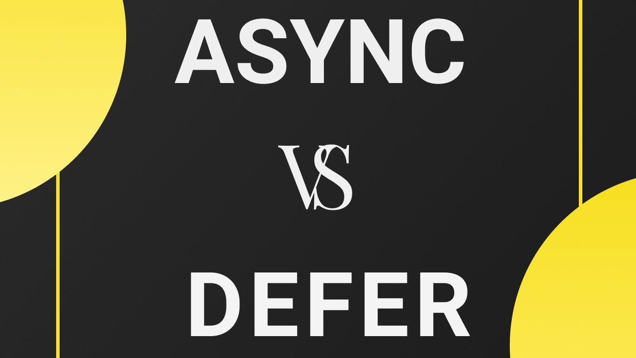 Download Async & Defer en JavaScript