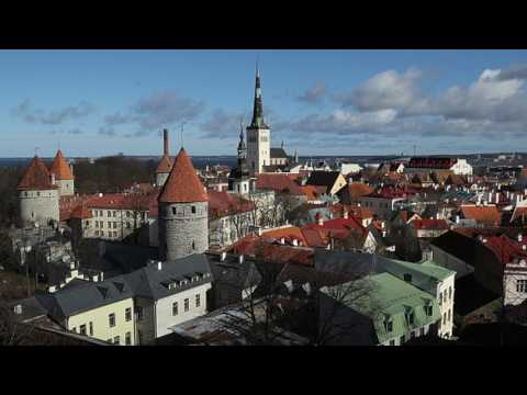 News Update Estonian capital to light up medieval city walls 12/07/17