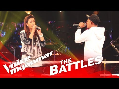 "Julia Htay vs. Woofer: ""အမုန္းၿမိဳ႕သူ"" - The Battles - The Voice Myanmar 2018"