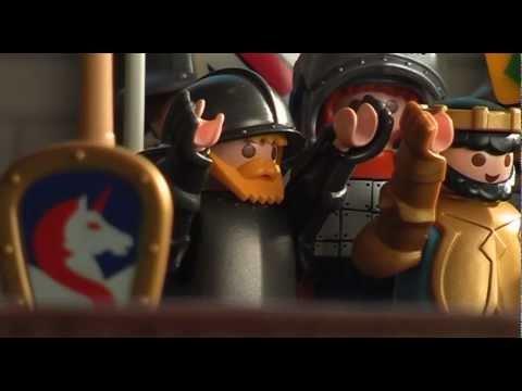 """Playmobil ® - """"Le Chevalier Noir"""", un playfilm de J&M"""