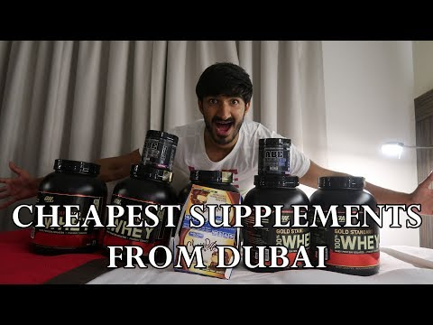 Vlog #4- Dubai (Best Place To The Buy Cheapest Supplements In Dubai)