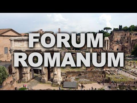 Roman Forum, the Centre of Ancient Roman Public Life