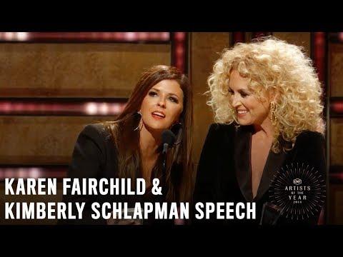 Karen Fairchild & Kimberly Schlapman | 2018 CMT Artists of the Year Acceptance Speech