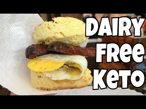Dairy Free Full Day of Keto Eating #2 | 90 second Keto bread