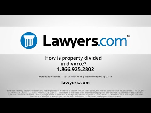 Divorce and Dividing Assets - Lawyers com