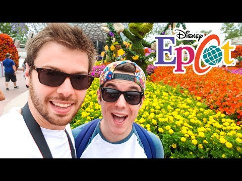 LE PARC EPCOT DE DISNEY WORLD - Vlog USA