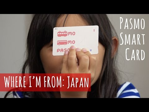 Pasmo! A Japanese Transportation and E-Money Smart Card
