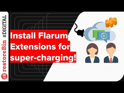 install-flarum-extensions-to-super-charge-forum