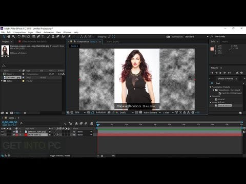 After Effects CC 2018 creer video  after effect tutorial