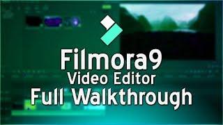 How To Use Filmora9 Video Editor (Tutorial)