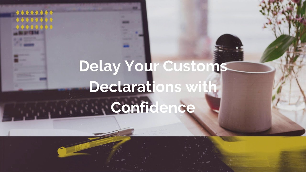 """New """"Checking Service"""": Compliantly delay your Customs Declaration"""