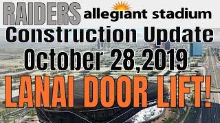 Las Vegas Raiders Allegiant Stadium Construction Update 10 28 2019