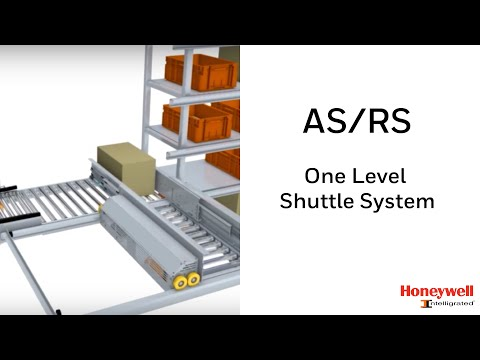 AS/RS One Level Shuttle (OLS) System   Honeywell Intelligrated