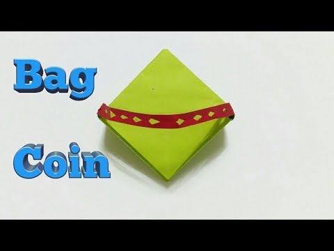 Easy Crafts & Simple Arts | How to Make Paper Gift Bag Coin Full Video Tutorial