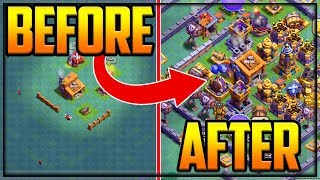 GEM TO MAX Builder Hall 3 to 9! GEM Fix That Rush? Clash of Clans Episode 23