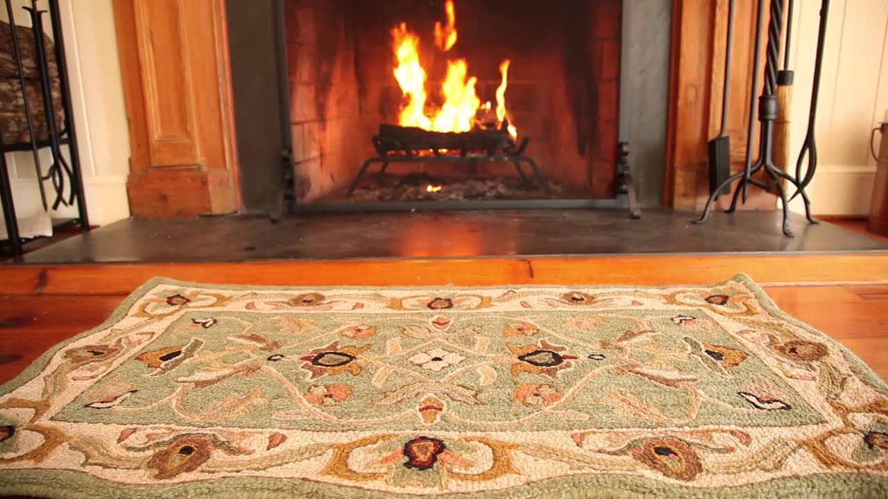 Fire Resistant Hearth Rug