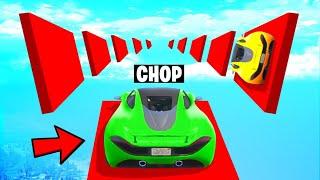 CHOP FOUND MOST IRRITATING WALLRIDING RACE OF GTA 5