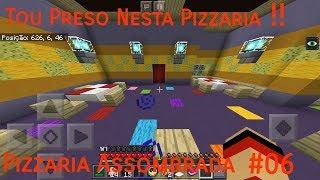 Minecraft PE: Pizzaria Assombrada #6 Tou Preso Nesta Pizzaria !!