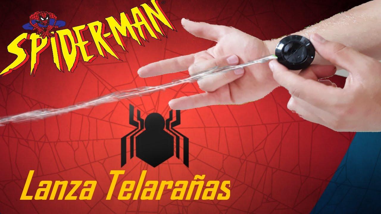 COMO HACER UN LANZA TELARAÑAS CASERO DE SPIDERMAN QUE FUNCIONA DE ...