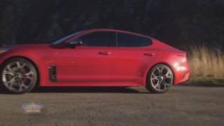 2018 Kia Stinger Makes Debut at 2017 Detroit Auto Show