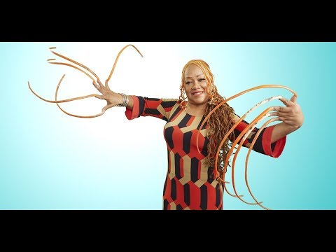 Texas Woman Is Proud To Have The Longest Finger Nails In The World!